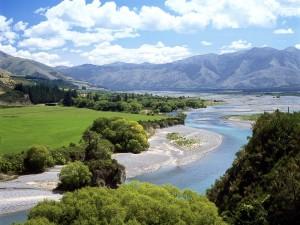 Río Waiau (Nueva Zelanda)