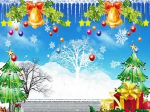 Adornado para celebrar la Navidad