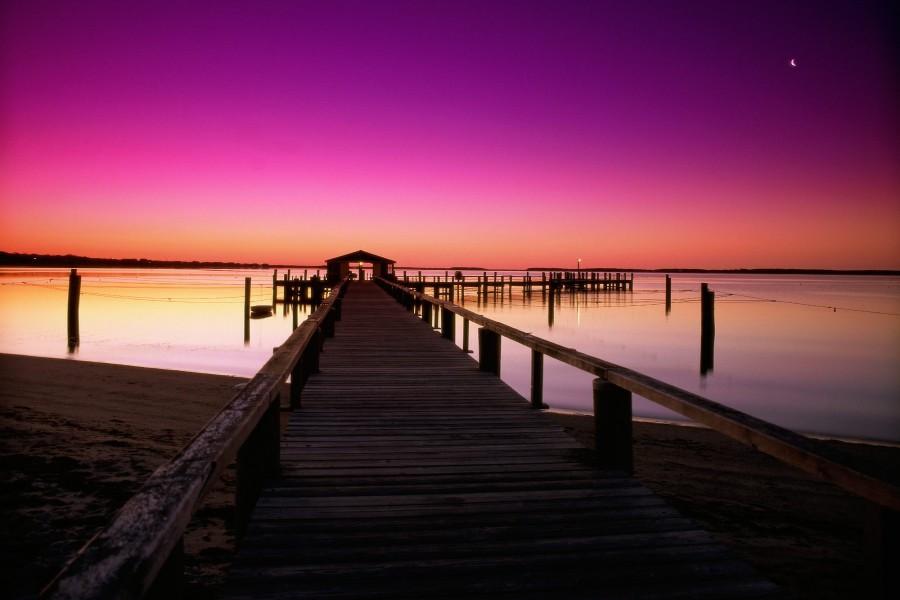 Calma en Cape Cod (Massachusetts)