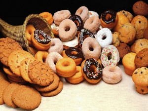 Exquisitas galletas y donas