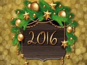 Decoración para el Año Nuevo 2016