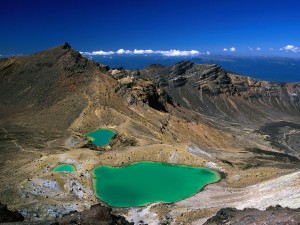 Lagos Esmeralda (monte Tongariro, Nueva Zelanda)