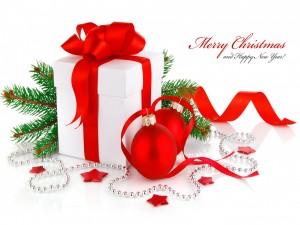 Decoración y mensaje para las próximas fiestas navideñas