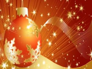 Bola navideña luminosa