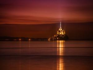 Castillo en la costa