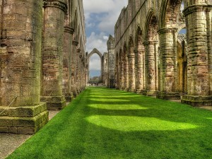 Antiguas estructuras de piedra