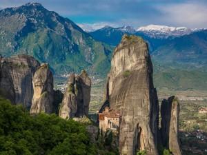 Monasterio en la roca (Meteora)