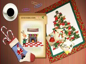 Café de la mañana de Navidad