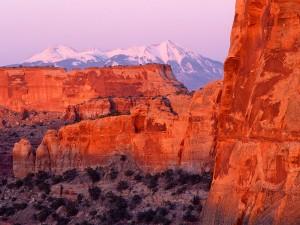 Bonita vista del Parque Nacional Tierra de Cañones