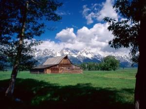 Rancho en el Parque Nacional Grand Teton