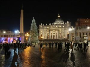 Navidad en la Plaza San Pedro