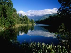 Lago Mathieson (Nueva Zelanda)