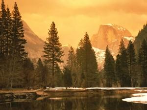 Bonita vista del Parque Nacional de Yosemite