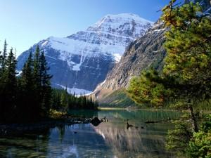 Monte Edith Cavell (Parque Nacional Jasper, Alberta)