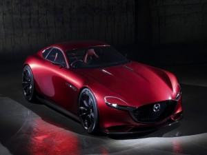 Mazda RX Visión rojo