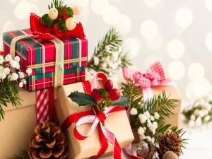 Regalos para la celebración de Navidad