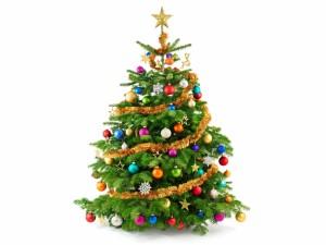 Bello árbol de Navidad
