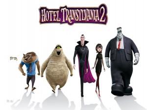 "Personajes de ""Hotel Transylvania 2"""