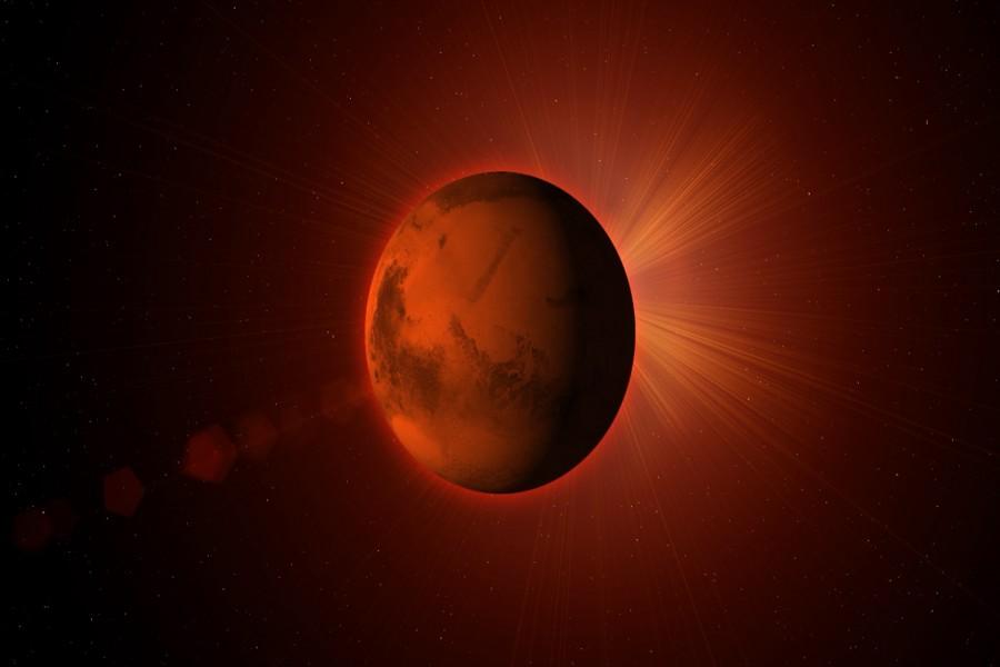 Extraño planeta Marte