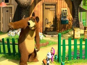 Masha y la casa del oso