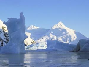 Icebergs en Portage Glacier (Alaska)