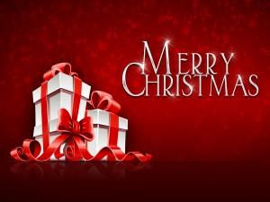 """Regalos y """"Feliz Navidad"""""""