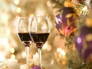 Brindis en Navidad