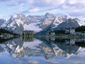 Lago Misurina (Auronzo di Cadore, Italia)