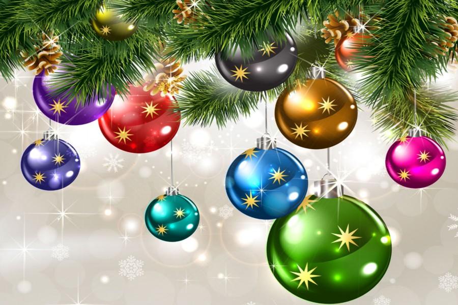 Bolas de colores en el rbol de navidad 73394 - Bolas de navidad grandes ...