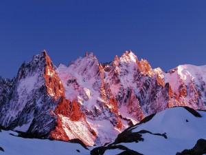 Agujas de Chamonix (Alpes franceses)