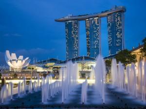 Fuentes en Singapur