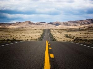 Carretera en Nevada