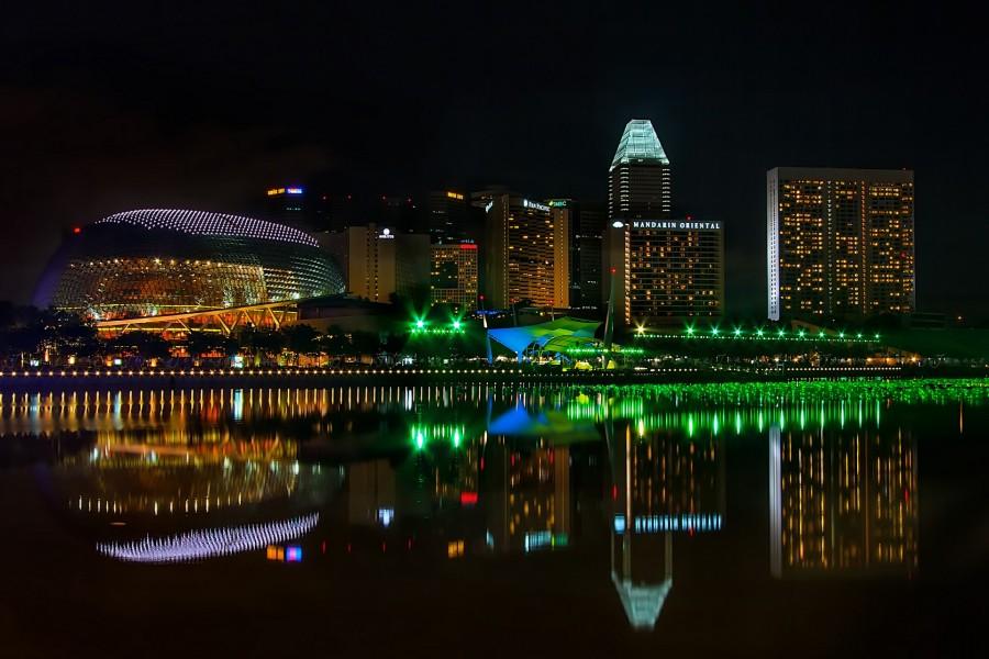 Luces de Singapur