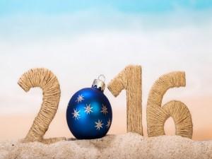 Nuevo Año 2016 en la arena