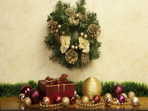 Adornos para las navidades