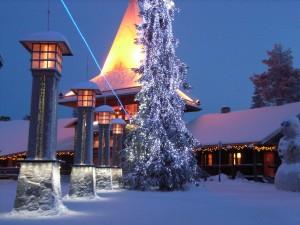 Navidad en el círculo ártico (Finlandia)