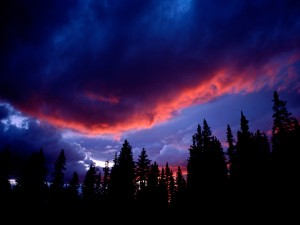 Nubes en el cielo