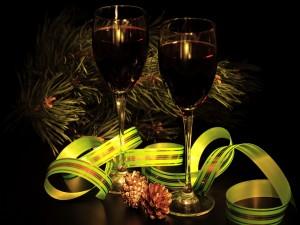 Brindemos en los días festivos