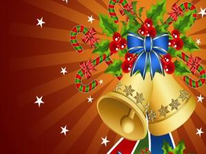 Relucientes campanillas de Navidad