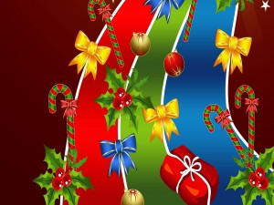 Adornos para los días de Navidad