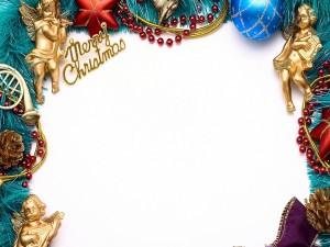 Marco de fotos de Navidad