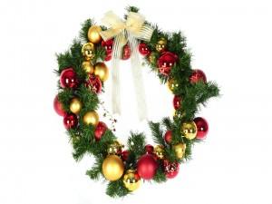 Preciosa corona de Navidad