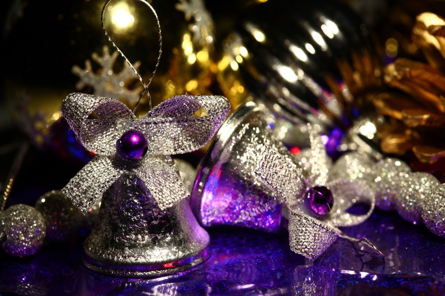 Campanas para las fiestas de Navidad
