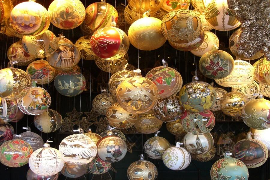 Hermosas bolas para Navidad