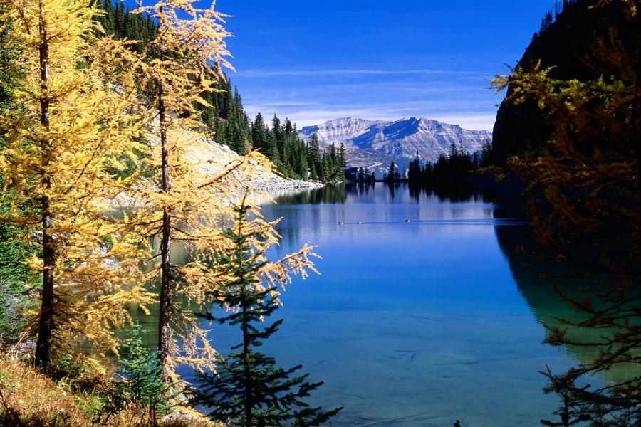 Lago Agnes (Parque Nacional Banff, Canadá)