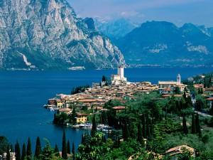 Lago de Garda (Malcesine, Italia)