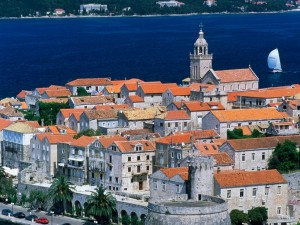 Isla de Korcula (Croacia)