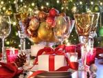 Preciosa mesa navideña
