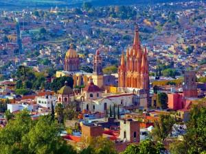 Hermosa vista de San Miguel de Allende (México)