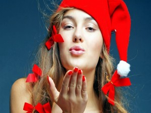 Un beso para Navidad y Año Nuevo